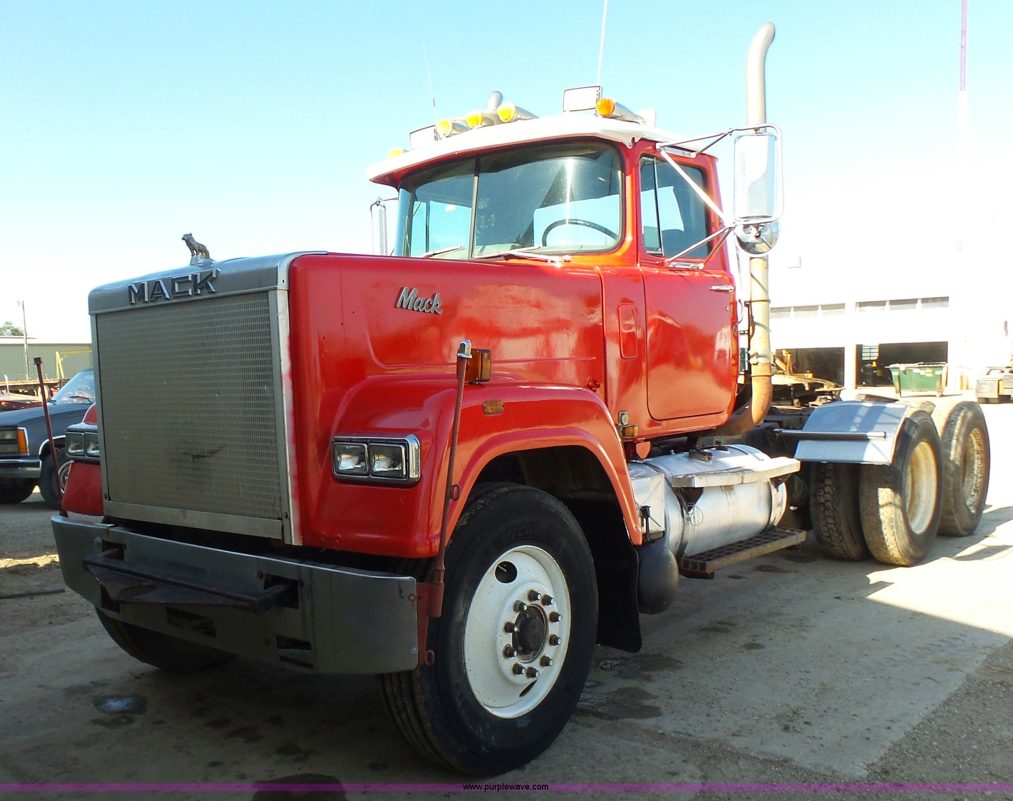 1986 Mack Superliner RW613 semi truck | Item K3115 | SOLD! S