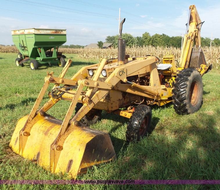 Case 480b Construction King Backhoe In Humboldt  Ks