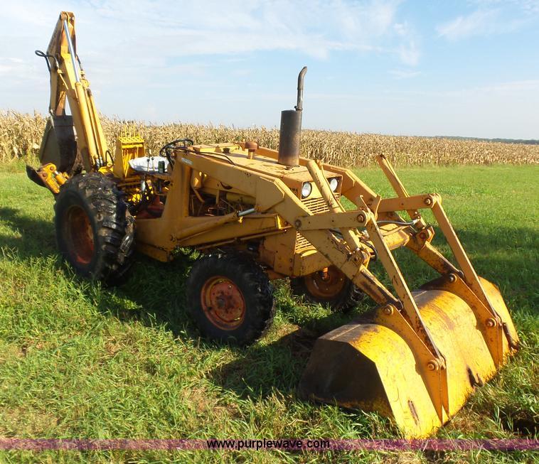Case 480b Construction King Backhoe