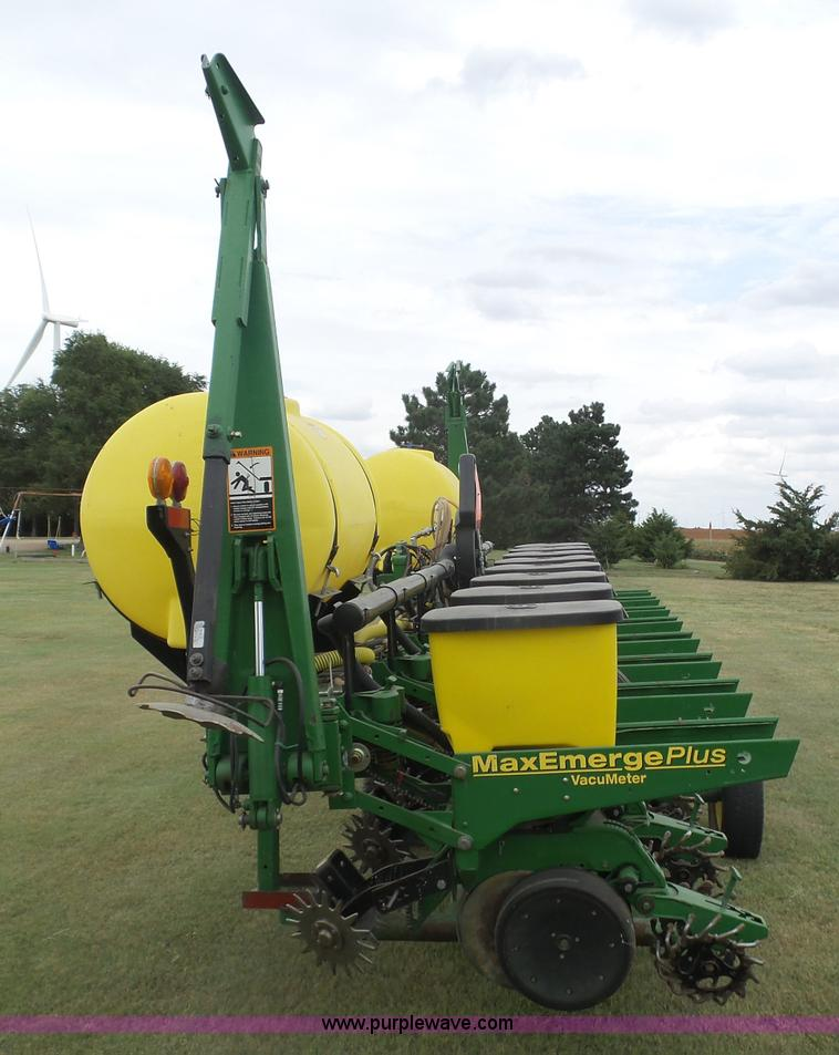 1998 John Deere 1700 Max Emerge Plus Vacumeter No Till Plant
