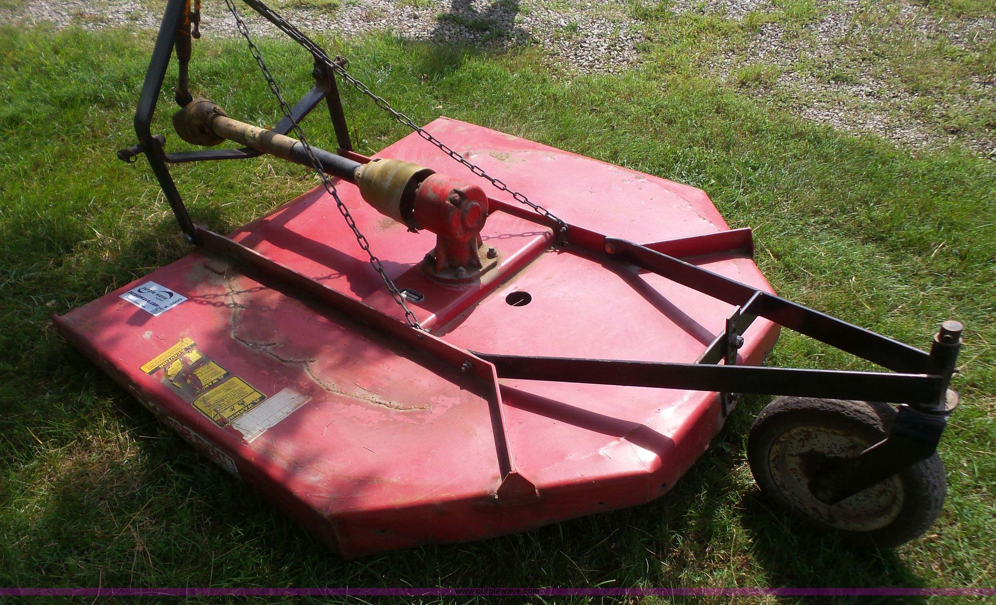 Bush Hog Rz60 Rotary Mower Item K3609 Sold September