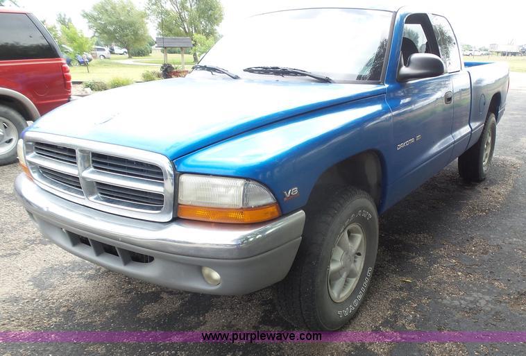 1998 Dodge Dakota Slt Club Cab Pickup Truck Item By9578
