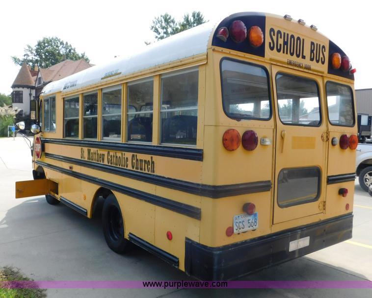 1996 Chevrolet P30 school bus   Item DA8799   SOLD! Septembe