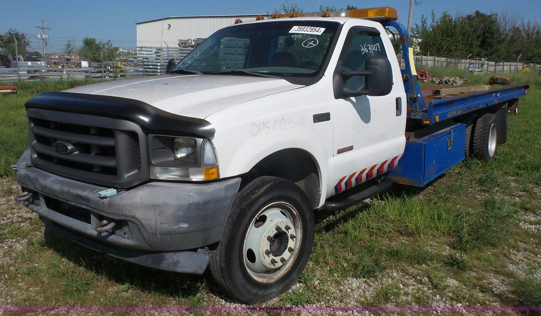 2004 Ford F550 Rollback Truck Item K3598 Sold September Super Duty Image For