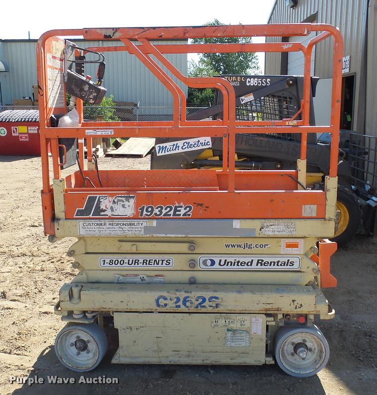 jlg 1932e2 scissor lift item al9132 sold september 29 c rh purplewave com JLG 1932E2 Parts List JLG 1932E2 Repair Manual