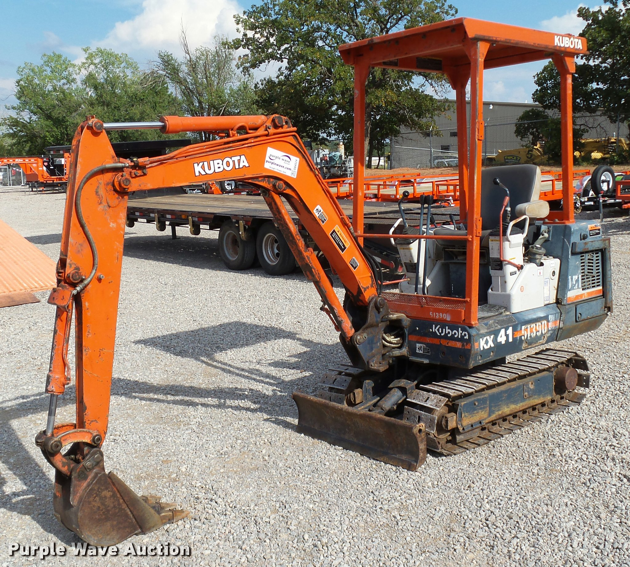 Admirable 1994 Kubota Kx41 Compact Excavator Item Db4524 Sold Sep Wiring 101 Breceaxxcnl