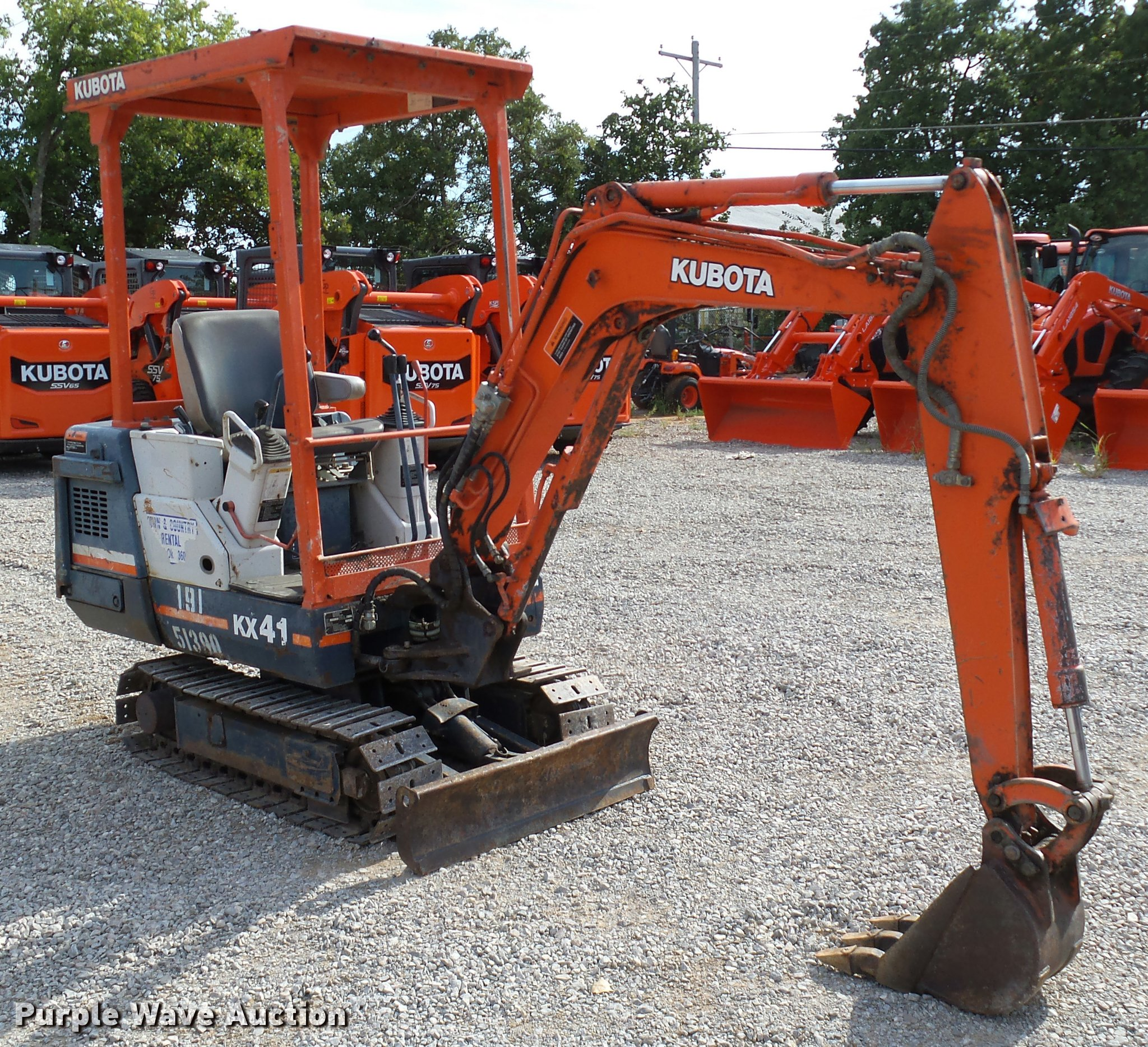 Amazing 1994 Kubota Kx41 Compact Excavator Item Db4524 Sold Sep Wiring Digital Resources Funapmognl