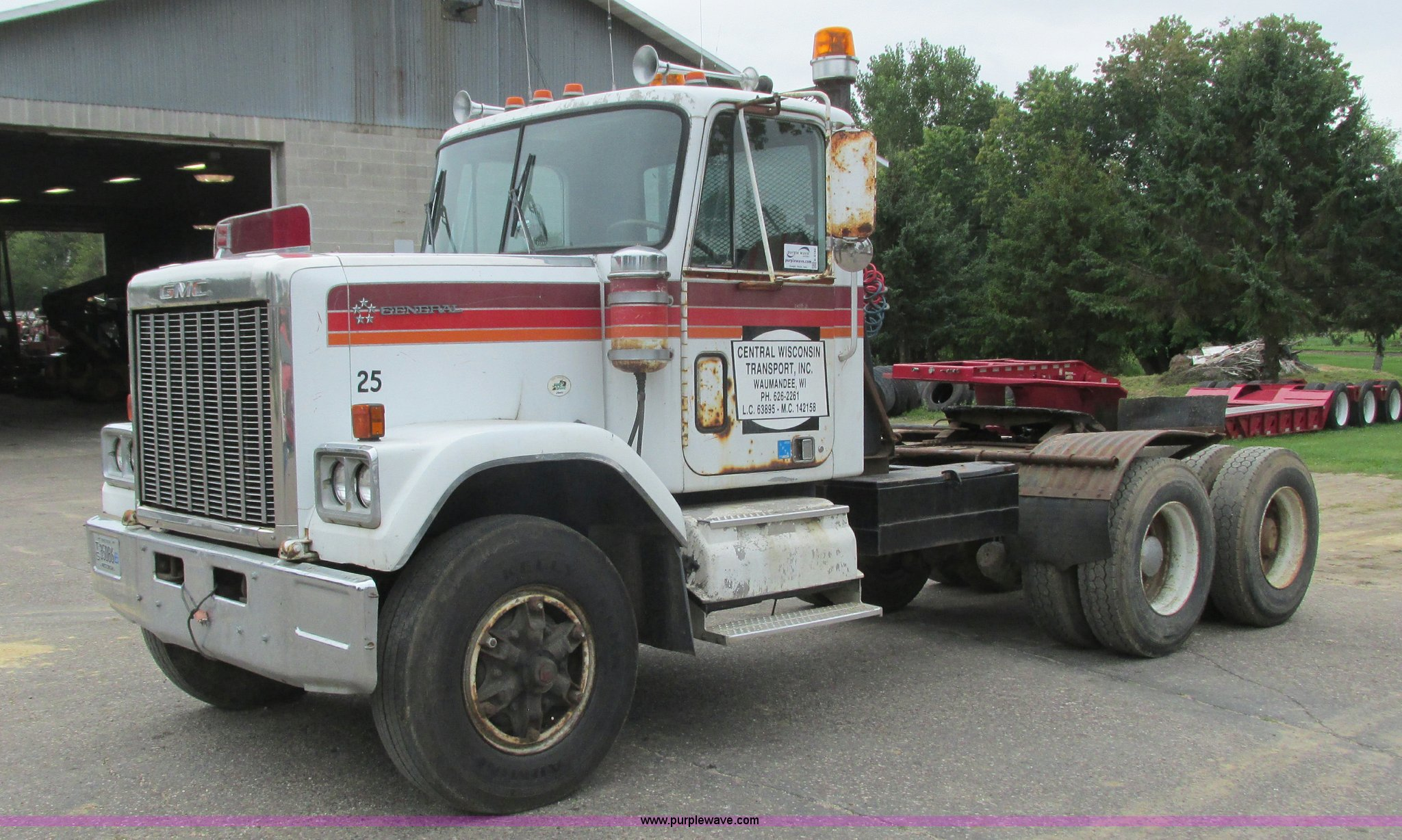 1979 Gmc General Semi Truck In Waumandee Wi Item K4182 Sold