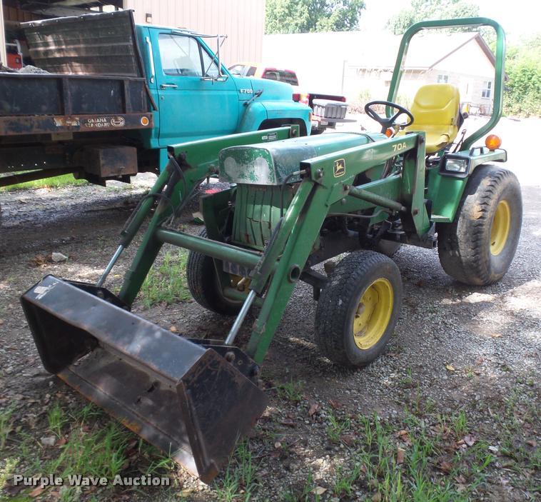 John Deere 855 tractor | Item CD9438 | SOLD! October 4 Gover