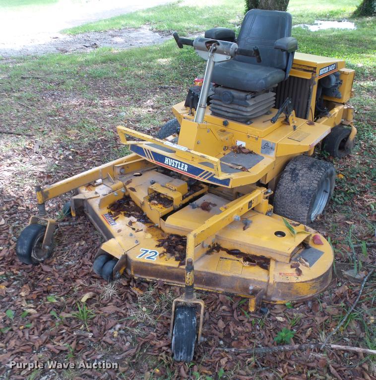 Used hustler 3400 mower