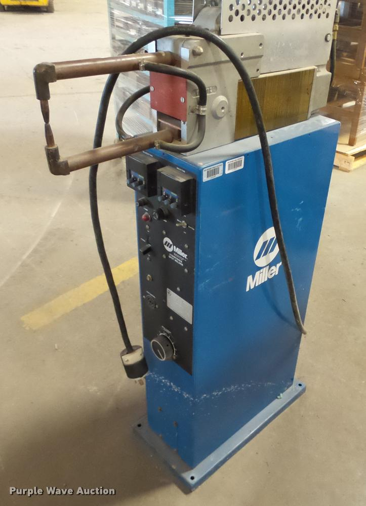 Miller SSW-2020ATT resistance spot welder | Item K2122 | SOL