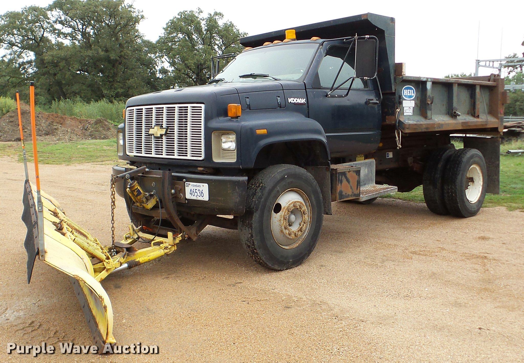 1991 Chevrolet Kodiak dump truck Item DA8846