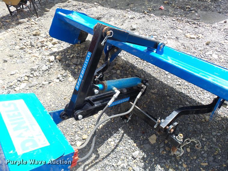 rear plow plow wiring daniels rear pull plow snow blade   item k3025   sold ...