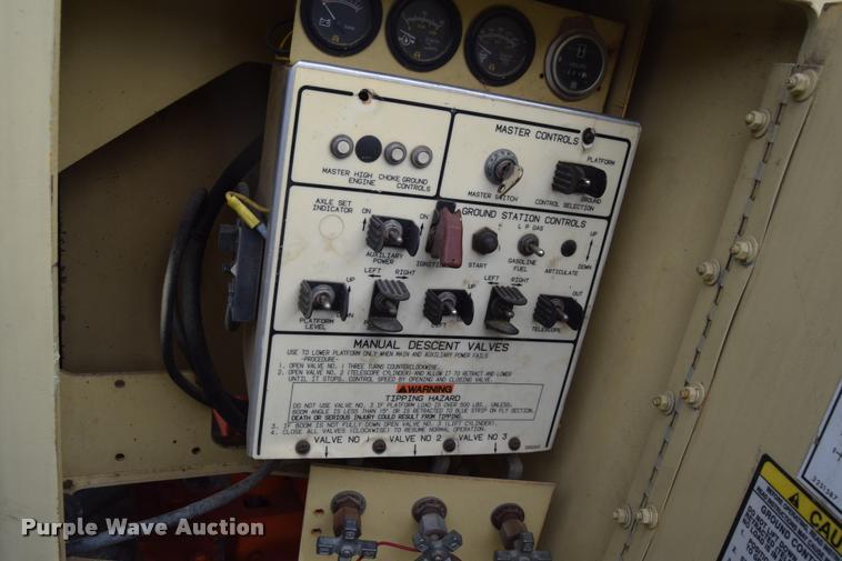 1995 JLG 60H boom lift | Item L2633 | 10-12-2016 Jlg H Man Lift Wiring Diagram on