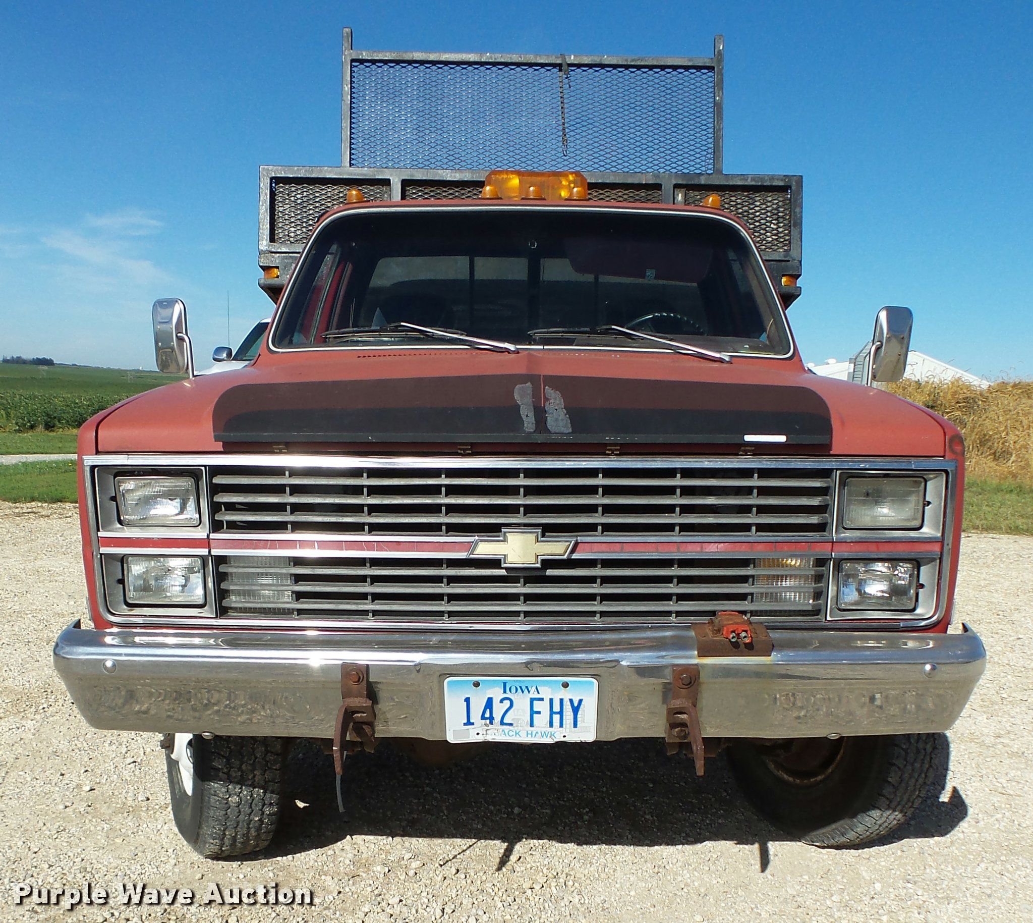 1983 chevrolet k30 flatbed pickup truck full size in new window