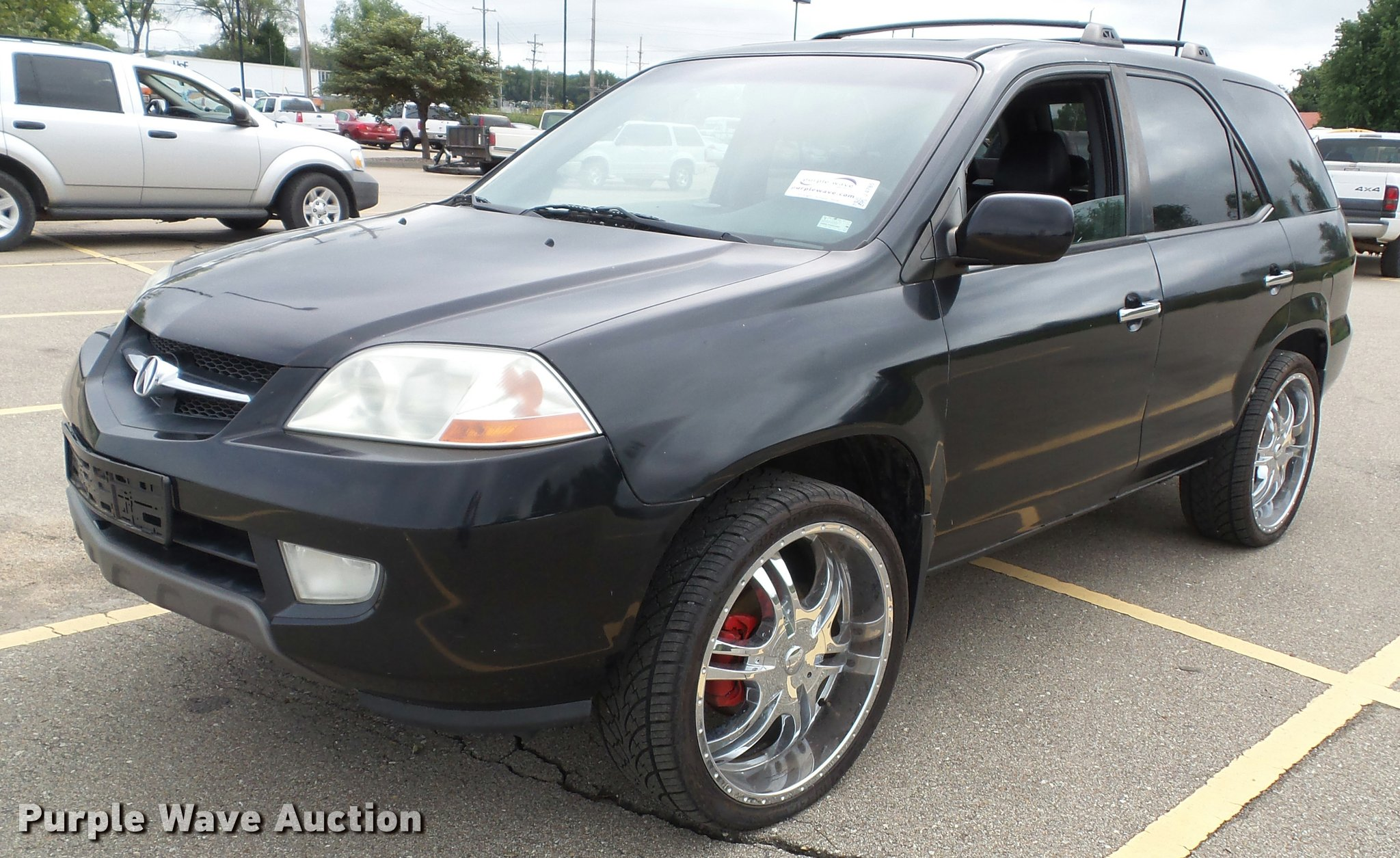Acura MDX SUV Item J SOLD October Seized As - 2002 acura mdx tires