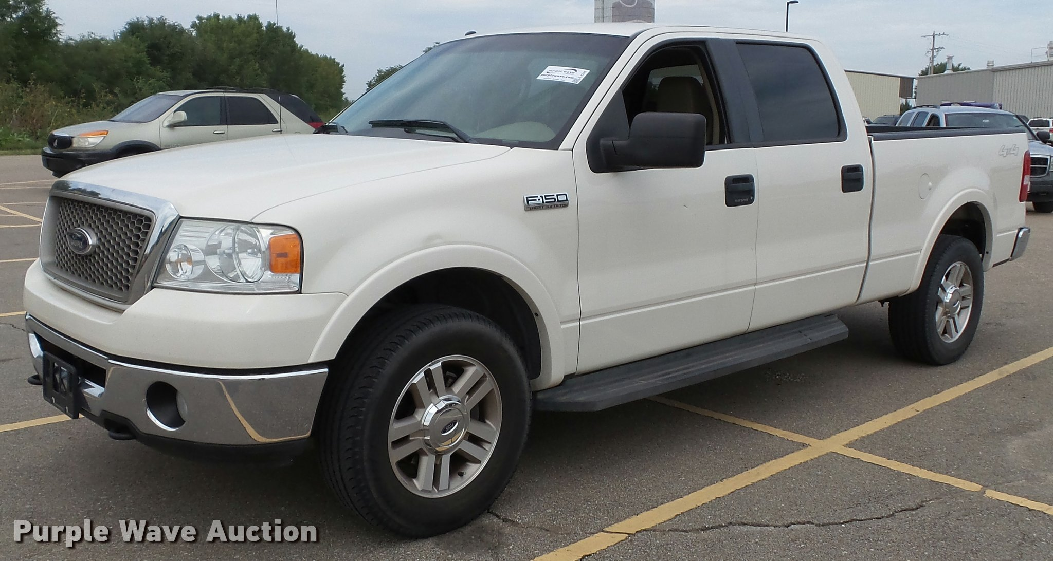 K8205 image for item k8205 2007 ford f150 lariat
