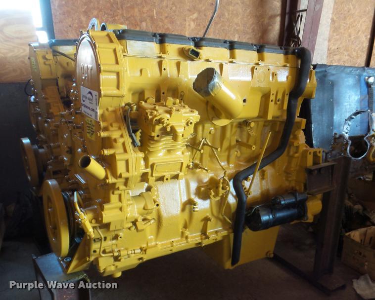 caterpillar c15 6nz six cylinder turbo diesel engine item. Black Bedroom Furniture Sets. Home Design Ideas