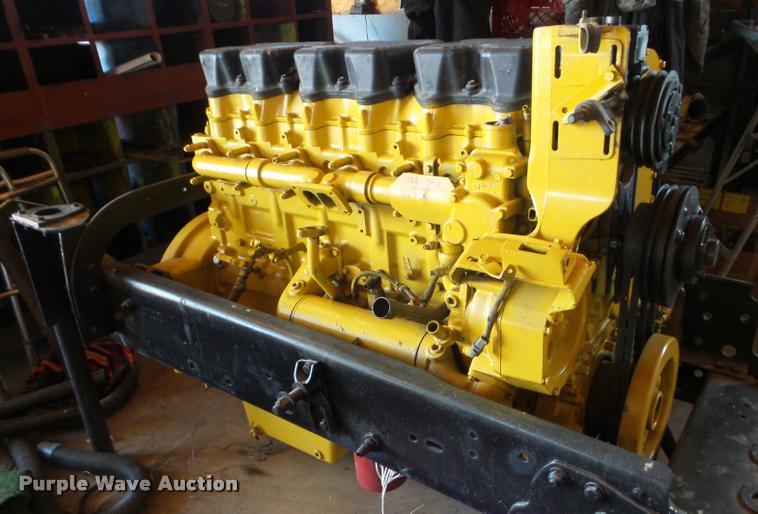 Caterpillar C15 5EK six cylinder turbo diesel engine | Item