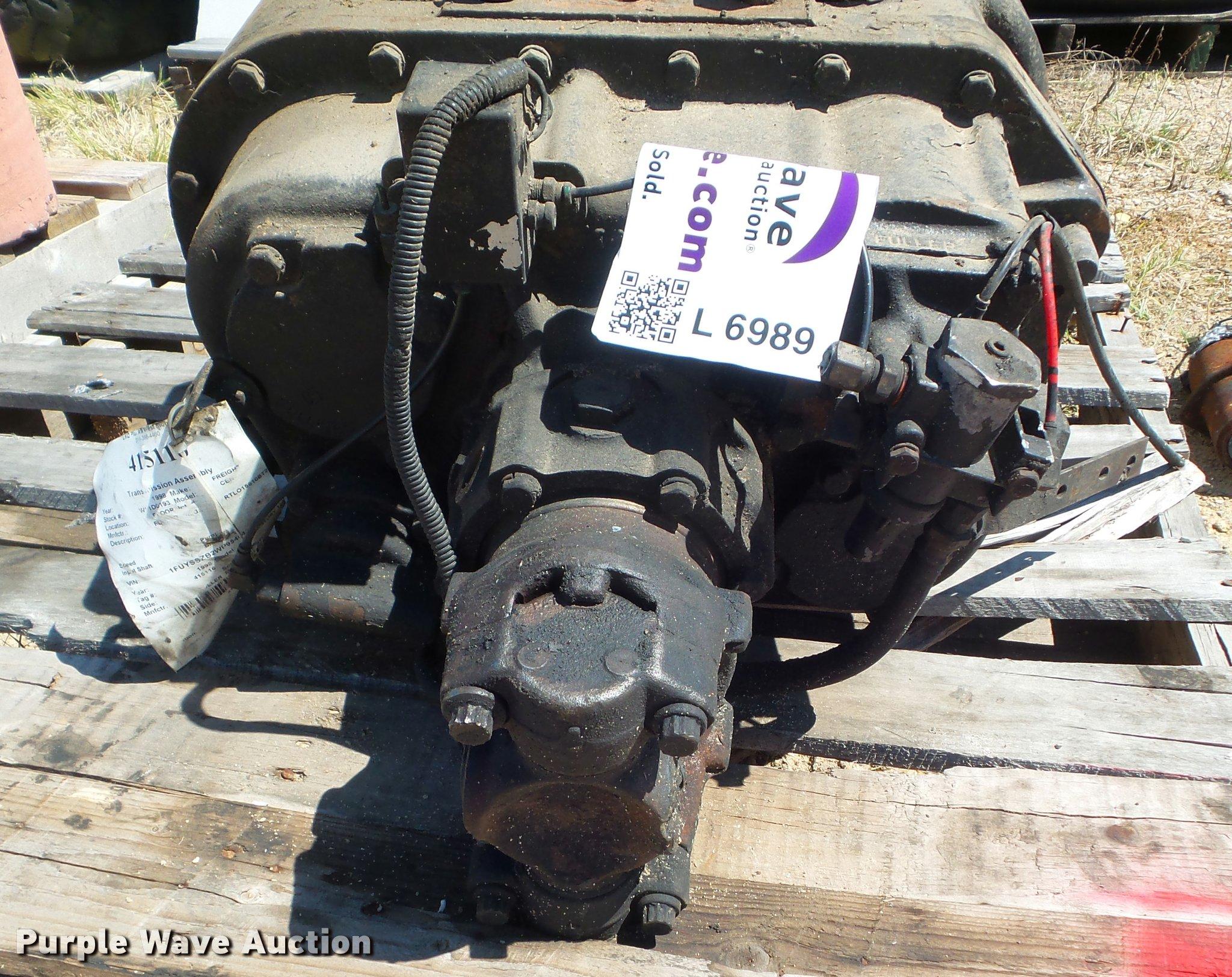Eaton Fuller Super 10 Speed Manual Transmission