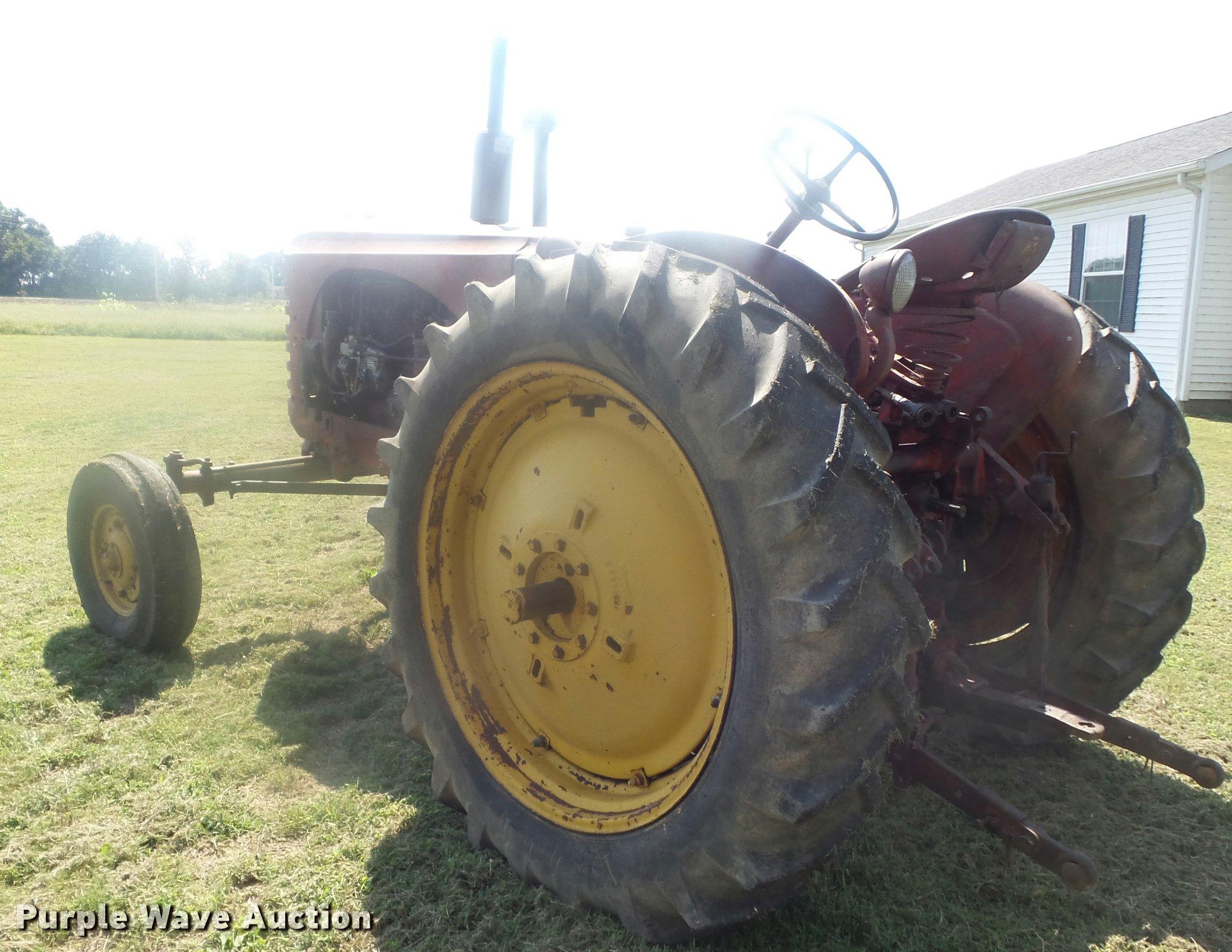 ... Massey-Harris 44 Special Diesel tractor Full size in new window ...