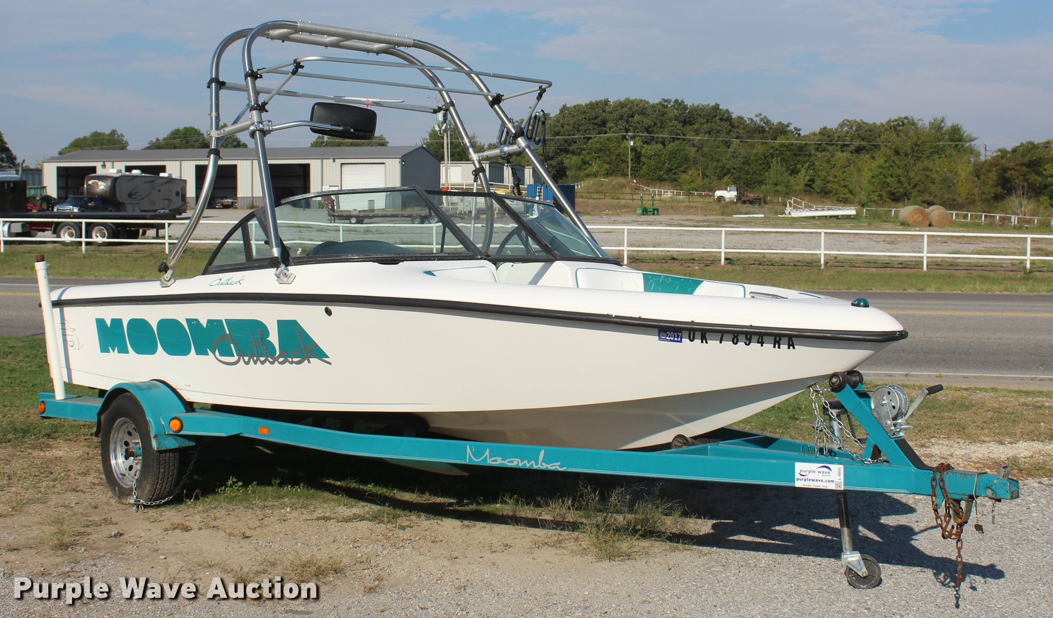 L4805 image for item L4805 1997 Moomba Outback ...