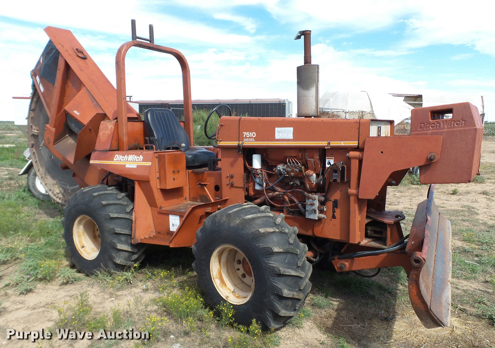 Ditch Witch 7510 manual
