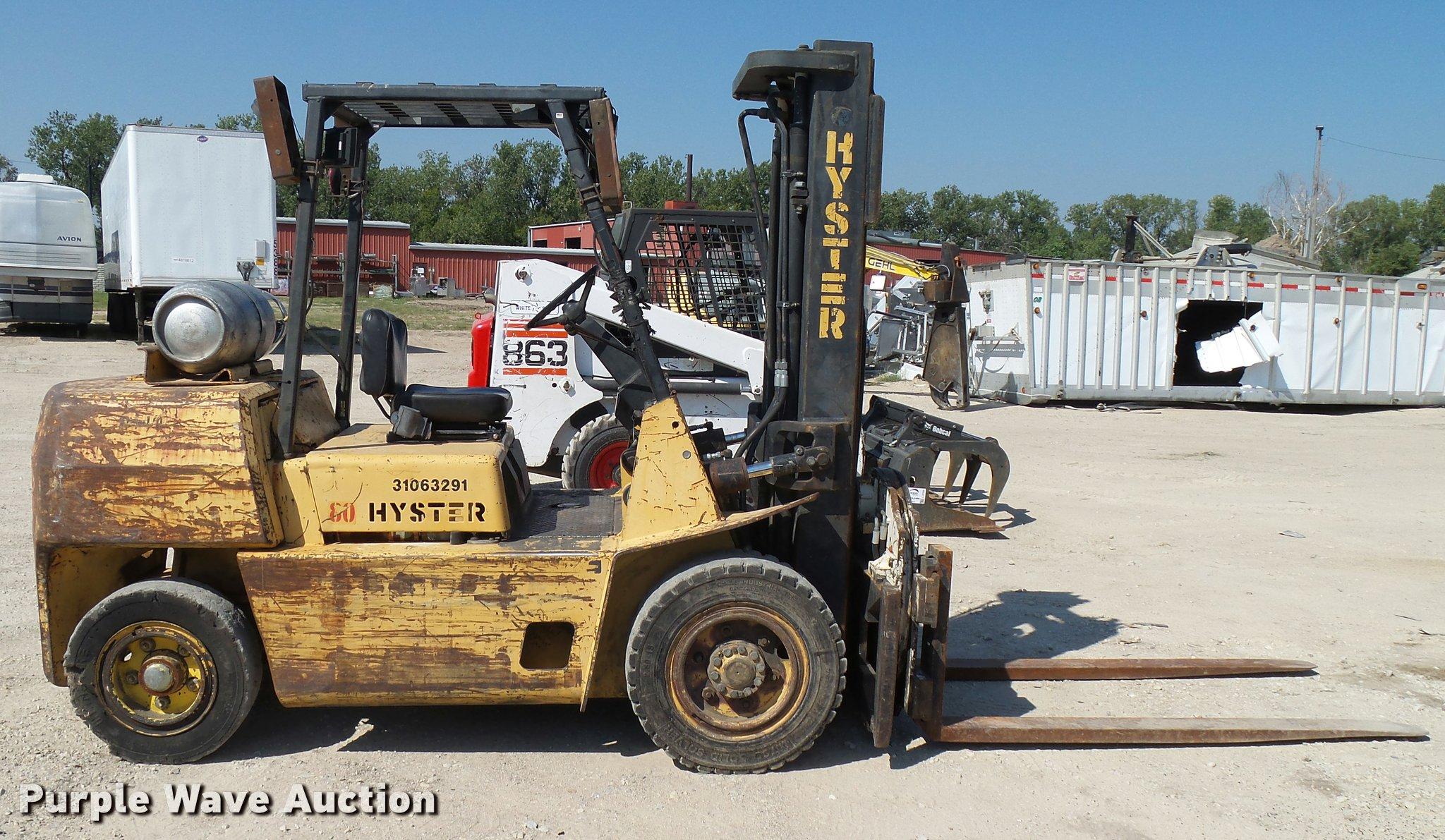 Hyster H80xl Transmission Wiring Diagram Forklift Item Sold October 2048x1191