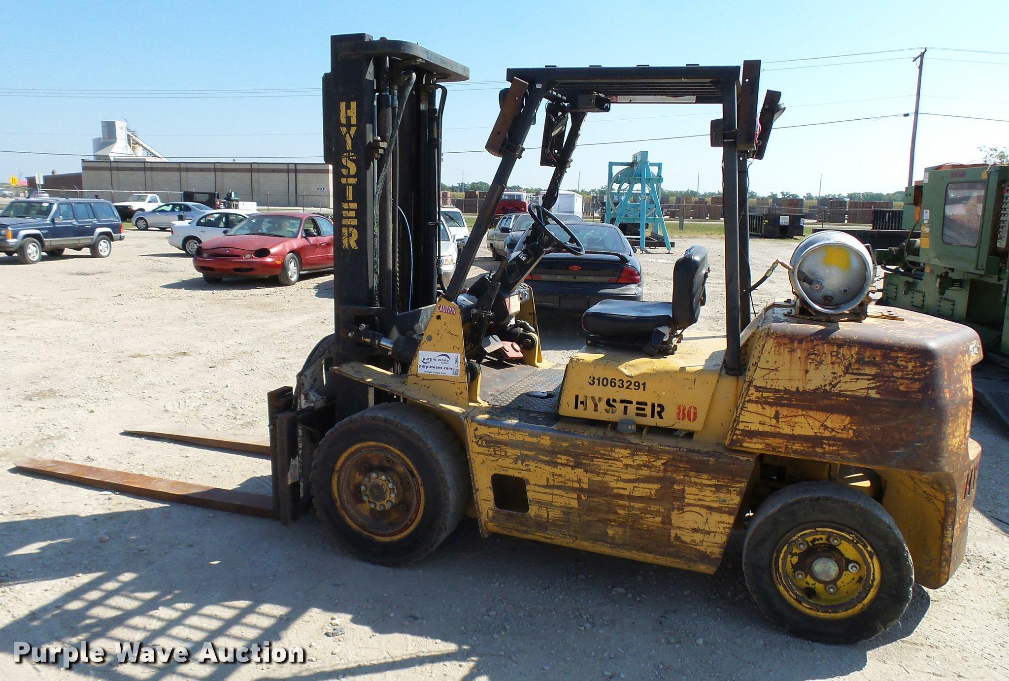 Hyster H80xl Transmission Wiring Diagram Forklift Item Sold October 2048x1382
