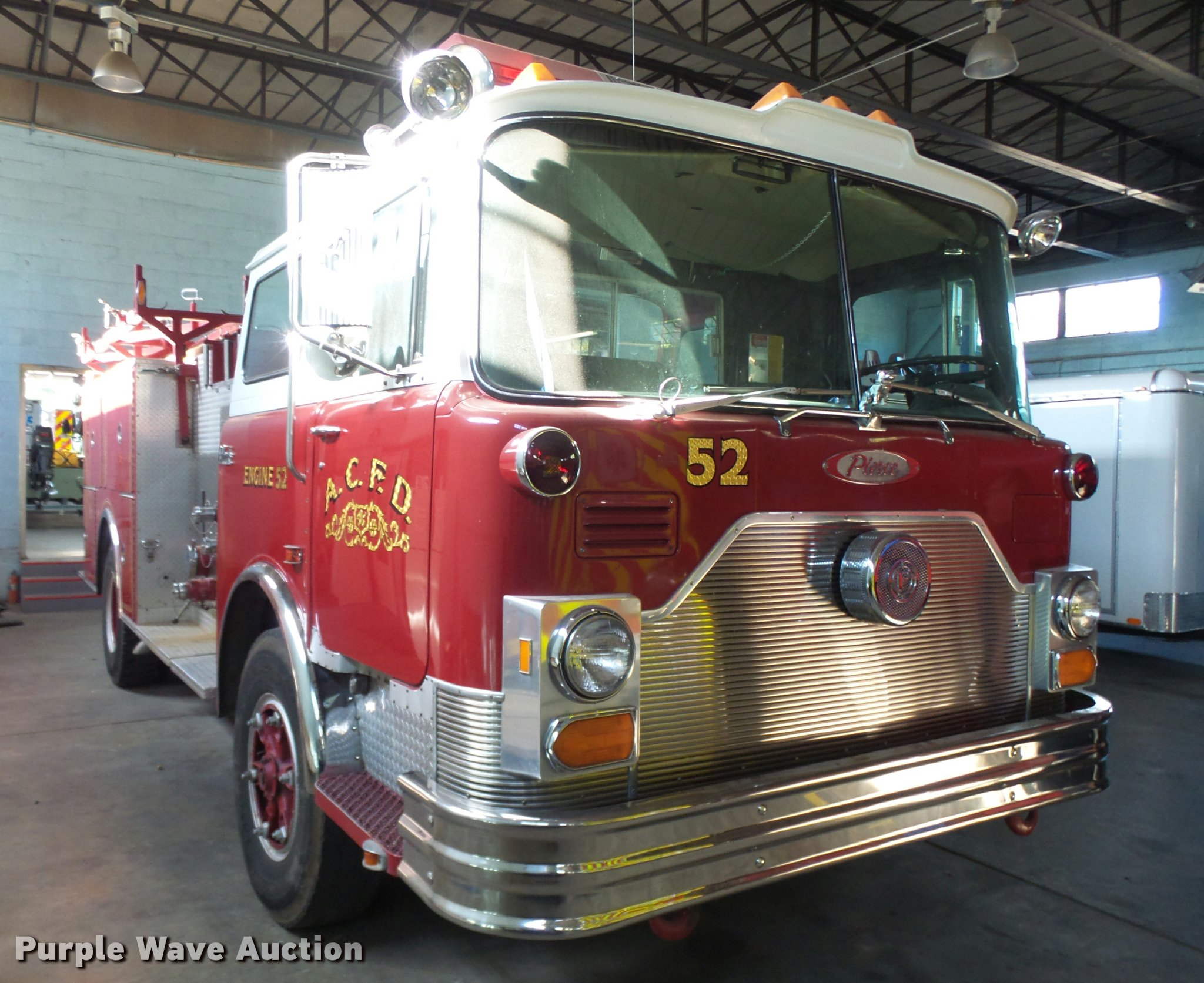 1990 Mack Pierce Fire Truck Item Bu9757 Sold November 1 Diagram Of Engine Full Size In New Window