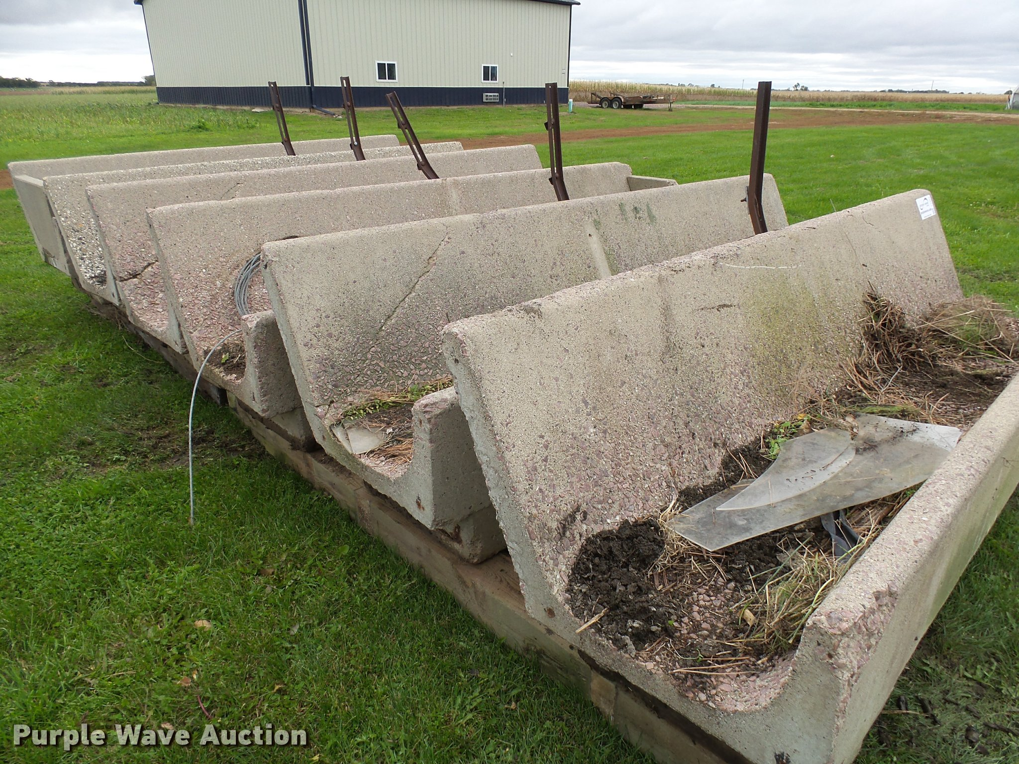 Cement Feed Bunks : Used construction agricultural equip trucks trailers
