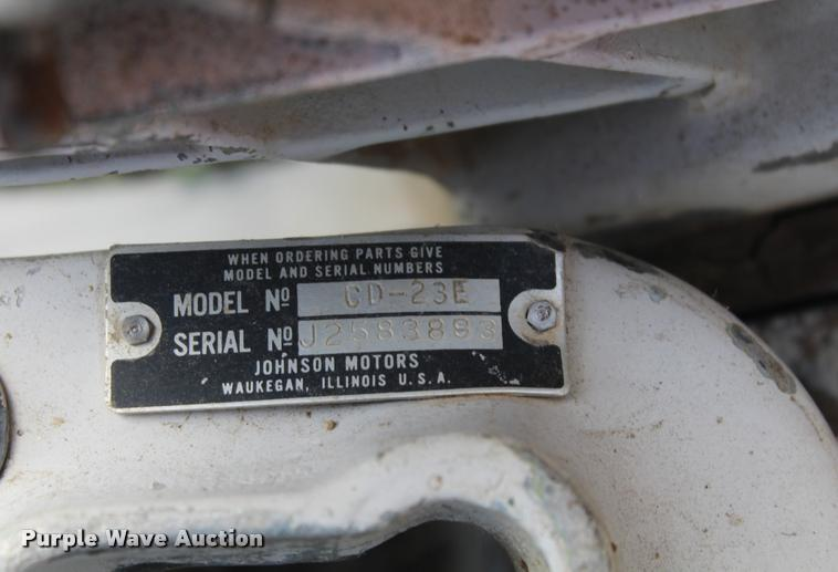 johnson outboard serial number location