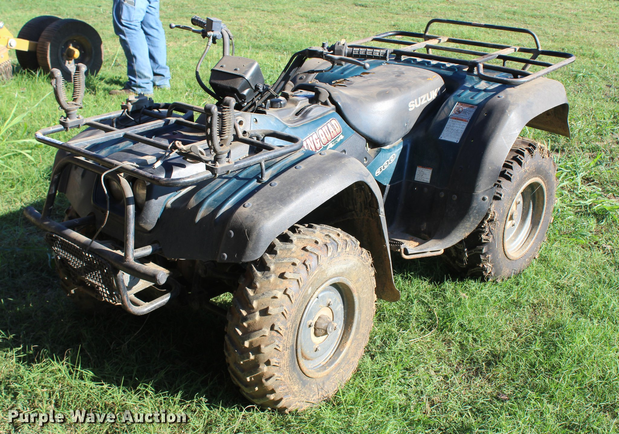 2001 suzuki king quad atv item aq9532 sold november 2. Black Bedroom Furniture Sets. Home Design Ideas