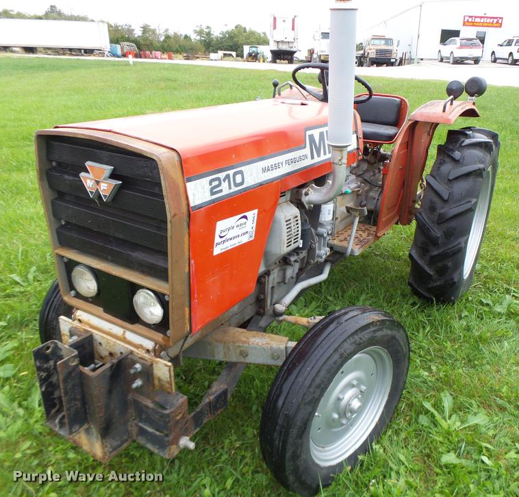 Massey Ferguson 210 Tractor : Massey ferguson tractor item k sold wednesday