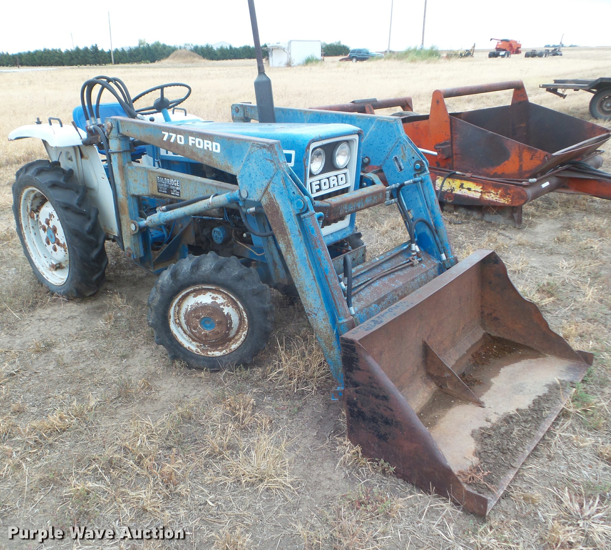 1979 Ford 1300 Mfwd Tractor