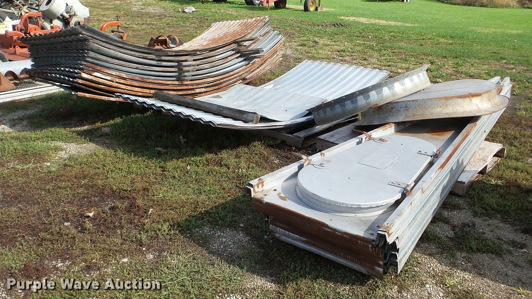Grain bin parts | Item DA8947 | SOLD! Wednesday November 9 A