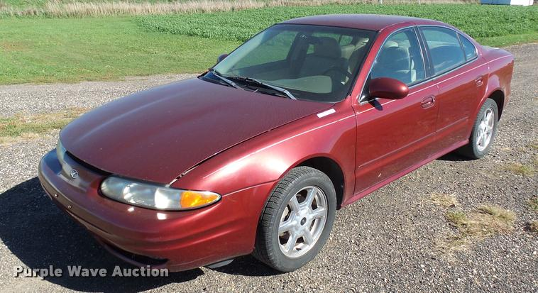 2001 Oldsmobile Alero Item Al9089 Sold November 9 Vehic