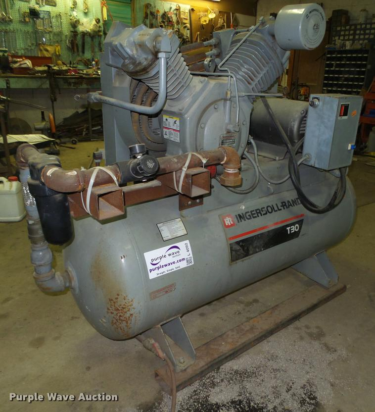 1993 ingersoll rand t30 air compressor for sale in nebraska