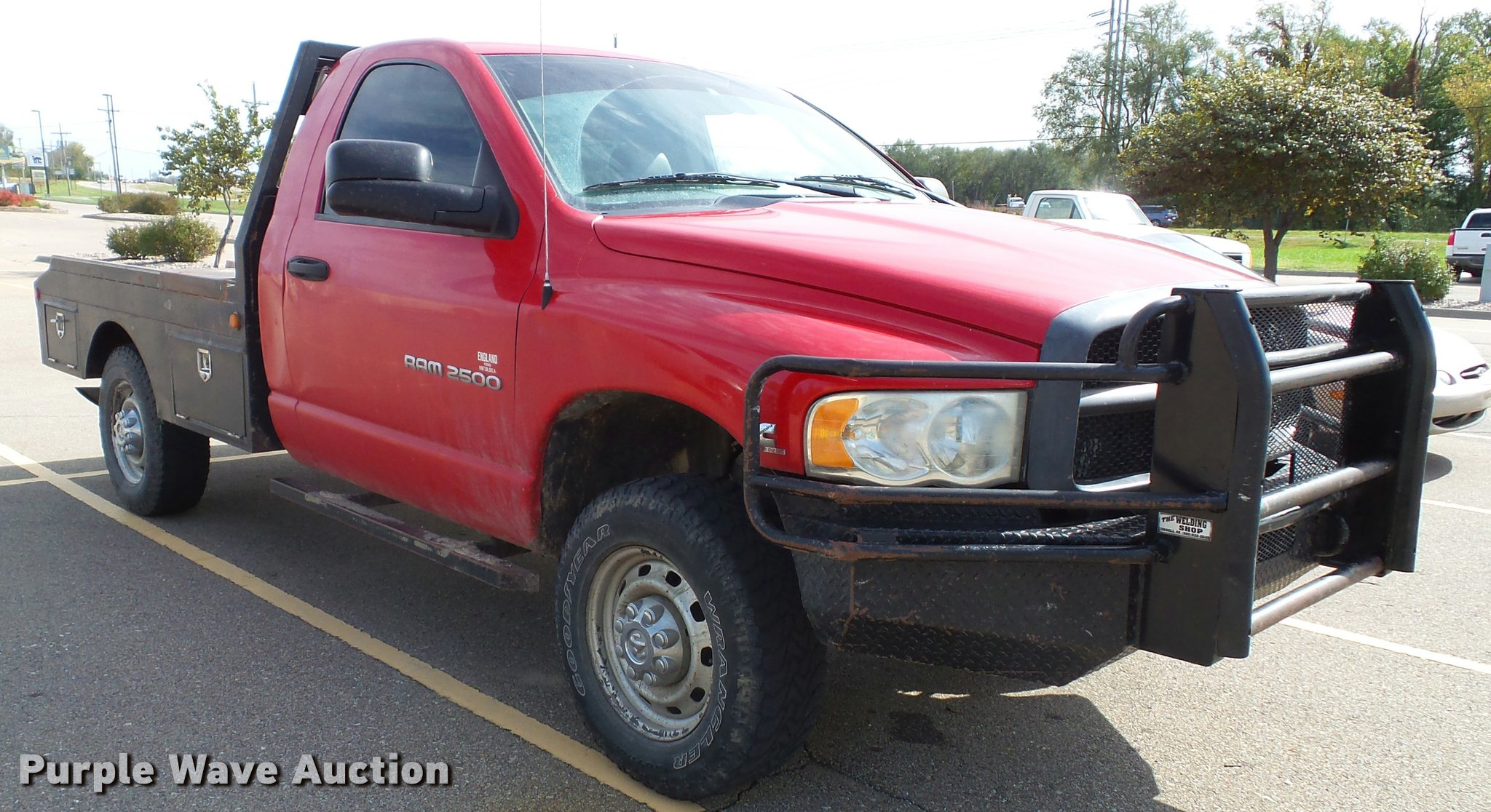 2003 Dodge Ram 2500 Flatbed Pickup Truck Item K8164 Sold Full Size In New Window