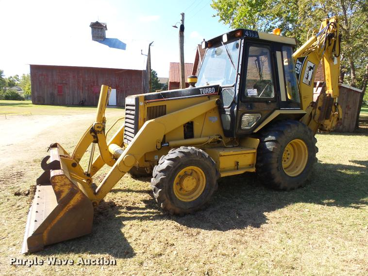 1996 Caterpillar 416B Turbo Backhoe Item L3286 SOLD Nov