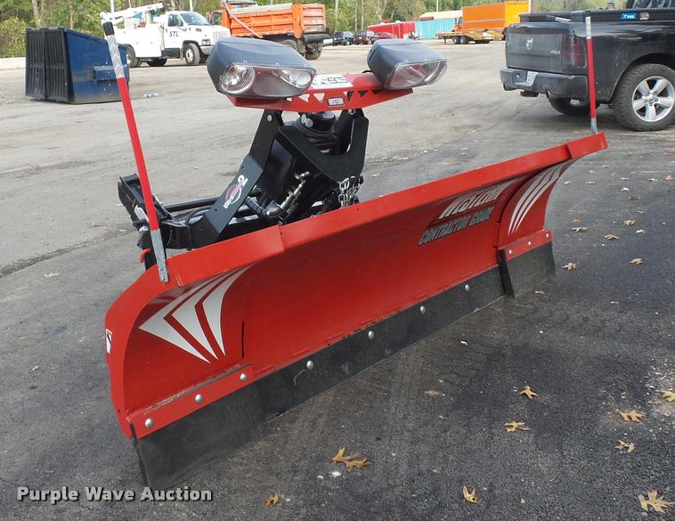 Snow Plow Prices >> Western Wide Out Snow Plow Item L3537 Sold November 10