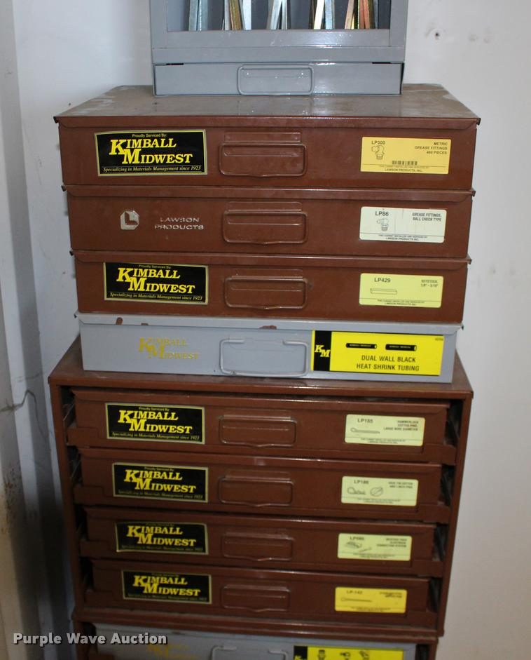 Kimball Midwest Bolt Bins And Hardware Cabinets Item Bu983