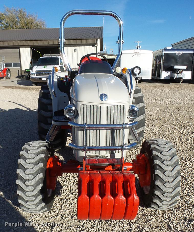 2010 New Holland Boomer 8N MFWA tractor | Item L3289 | SOLD!