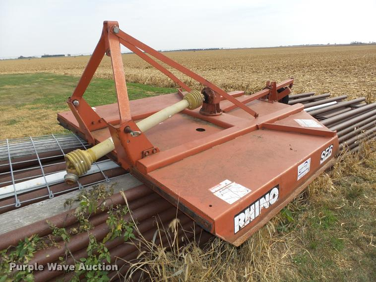 Rhino SE6 rotary mower | Item L4104 | SOLD! November 30 Ag E