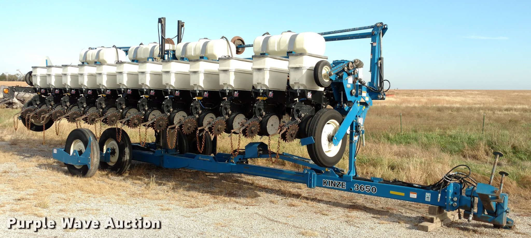 Kinze 3650 12 23 Interplant Split Row Planter Item Da4337