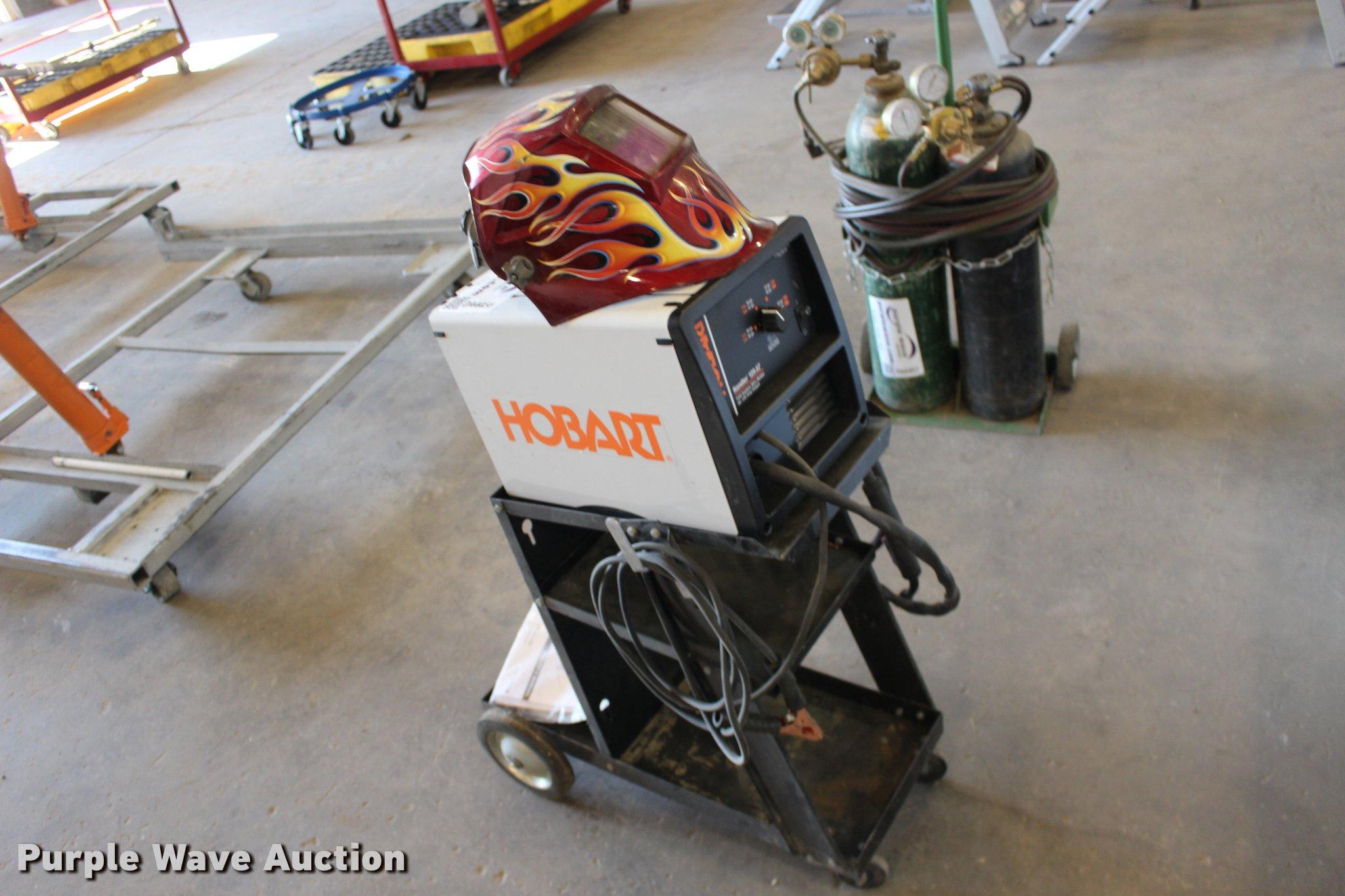 Hobart 125 EZ-Handler gasless wire welder | Item DA4456 | SO...