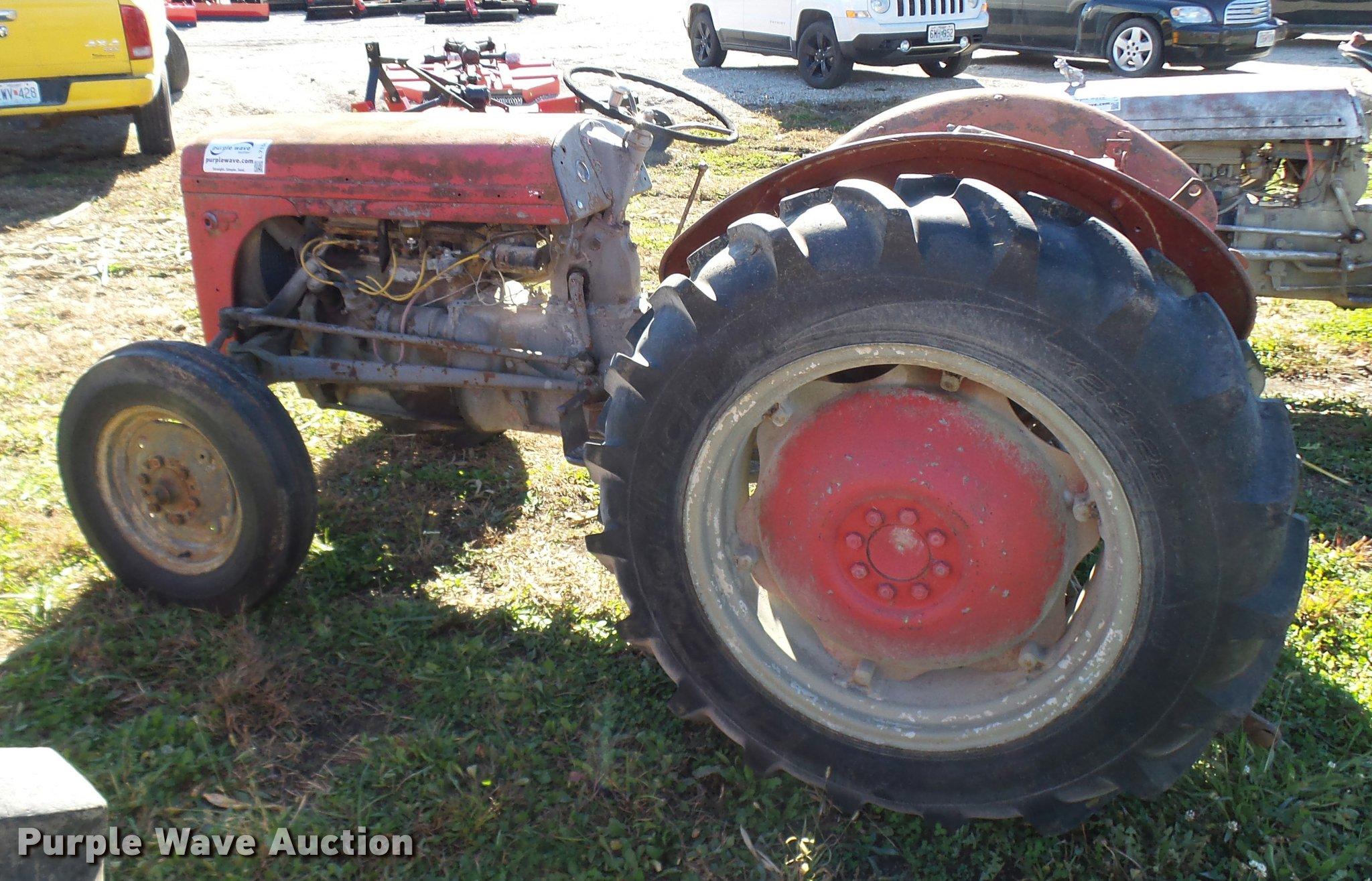 1948 Massey-Ferguson TE20 tractor   Item L7155   SOLD! Novem