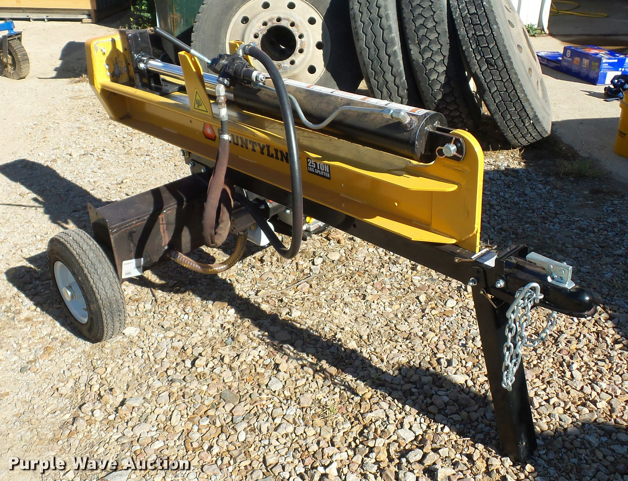 County-line wood splitter | Item BG9594 | SOLD! November 30