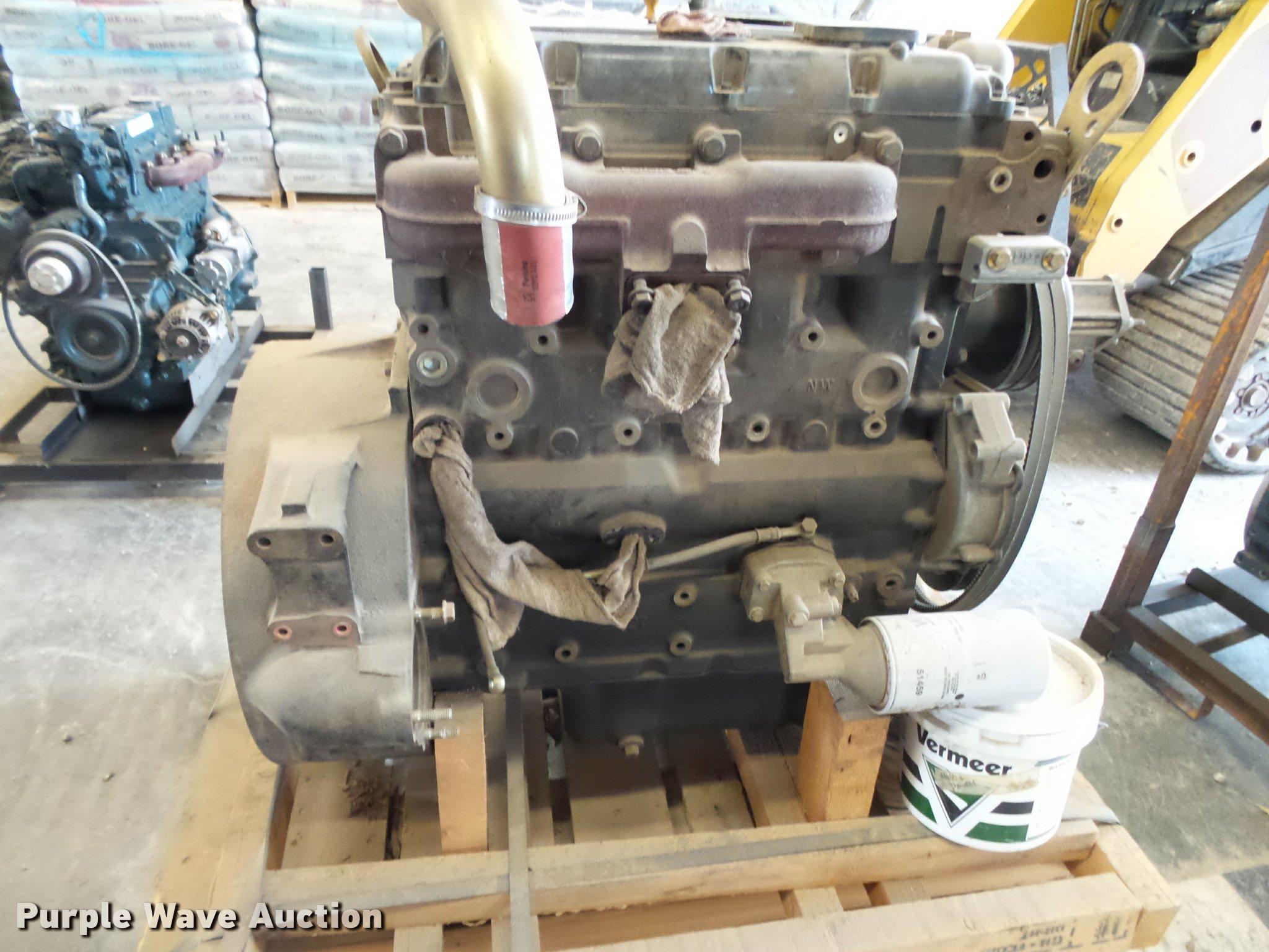 Perkins 4 4L four cylinder diesel engine | Item BM9622 | SOL