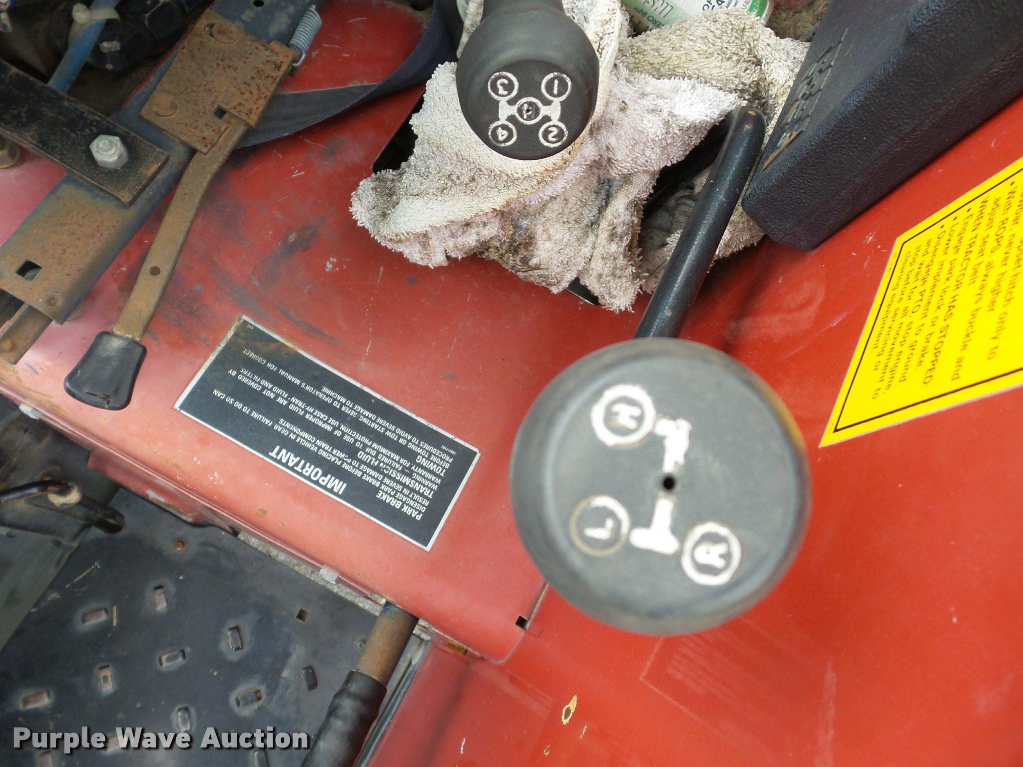 Case IH 585 tractor   Item BG9674   SOLD! December 6 Governm